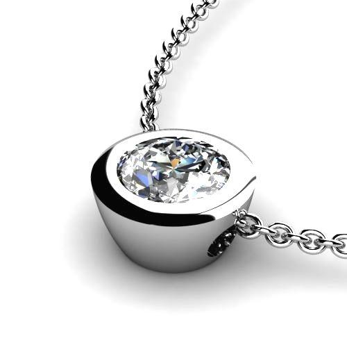 diamantanhänger 1 karat